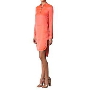 J brand Tunica Coral Shirt Dress